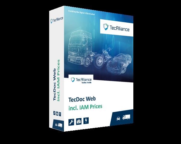 TecDoc Web incl. OE Price Information